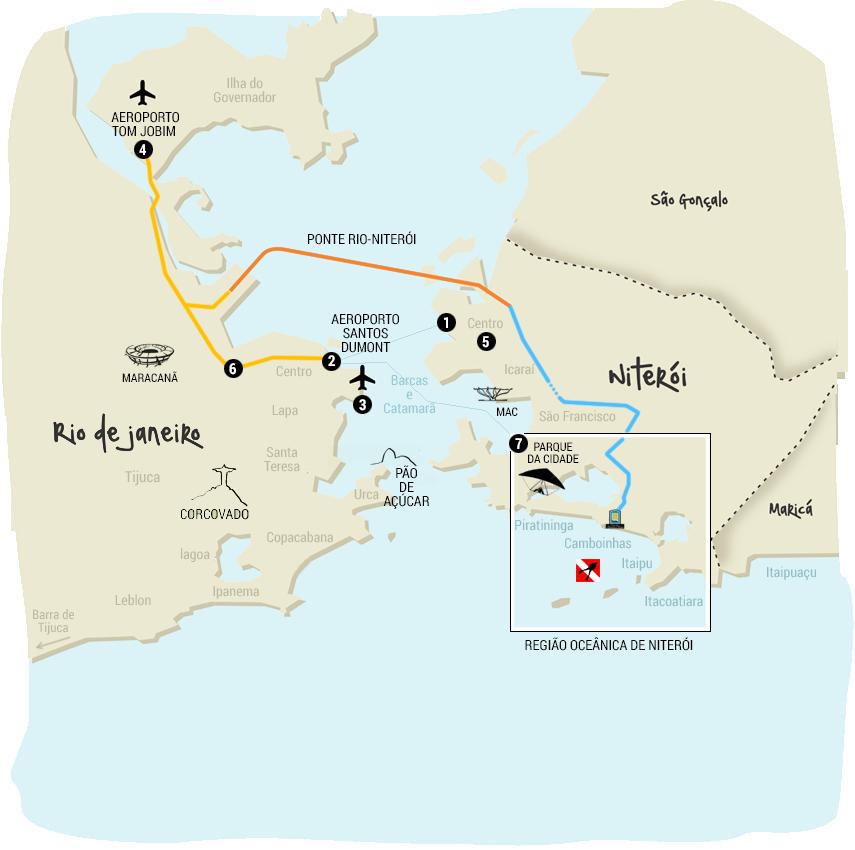 mapa de niterói